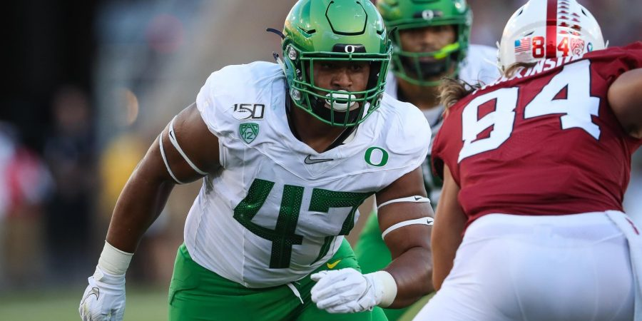 Spring Storylines What Might 2020 Have In Store For Oregon S Young Guns At Linebacker Whole Flock Of Ducks